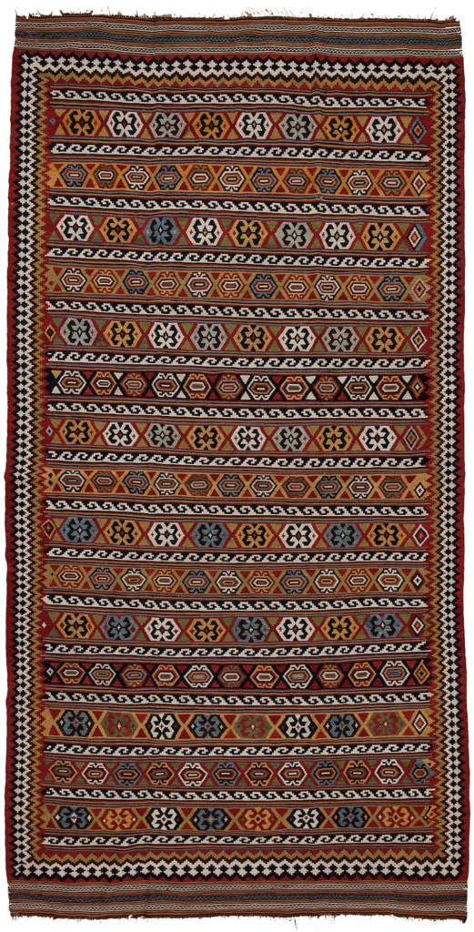 Old Persian Kilim at Essie Carpets, Mayfair London