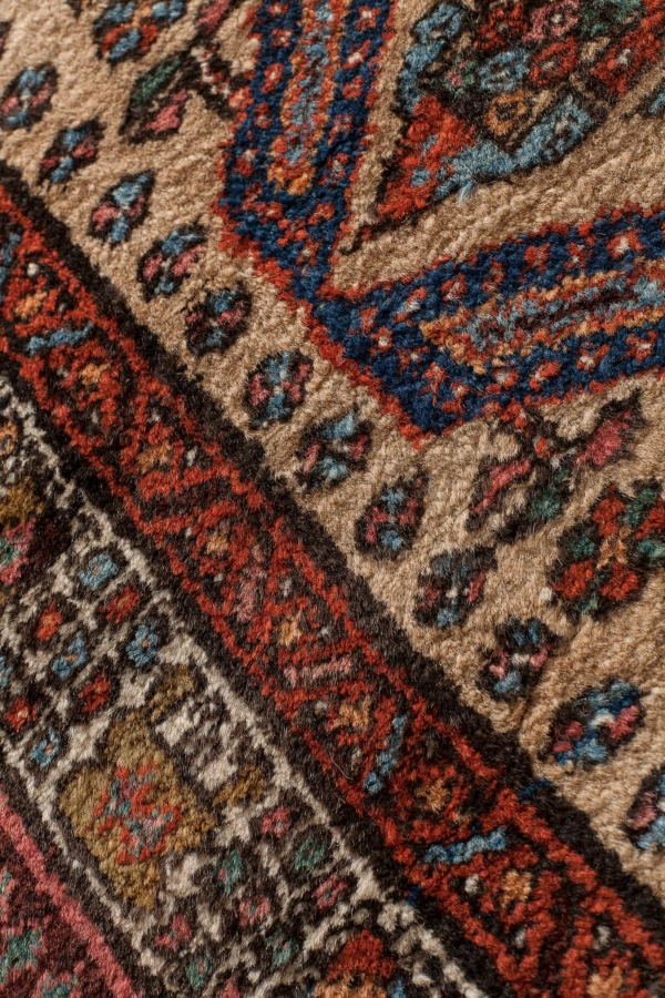 Old Persian Sarab Runner at Essie Carpets, Mayfair London