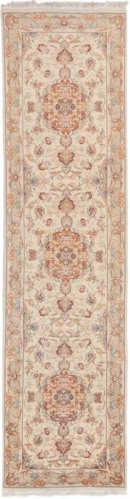 Fine Persian Tabriz Runner Runner at Essie Carpets, Mayfair London