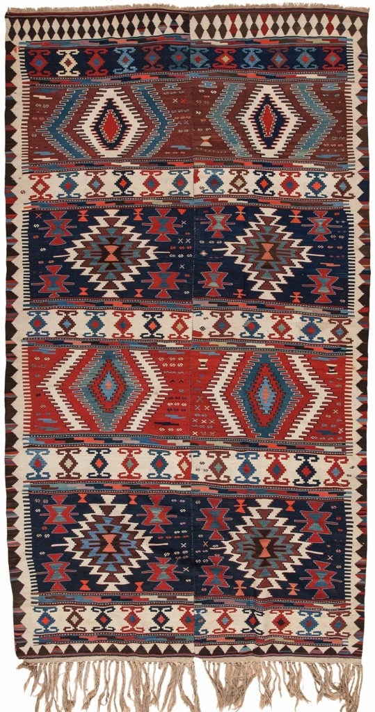 Persian  Kilim at Essie Carpets, Mayfair London