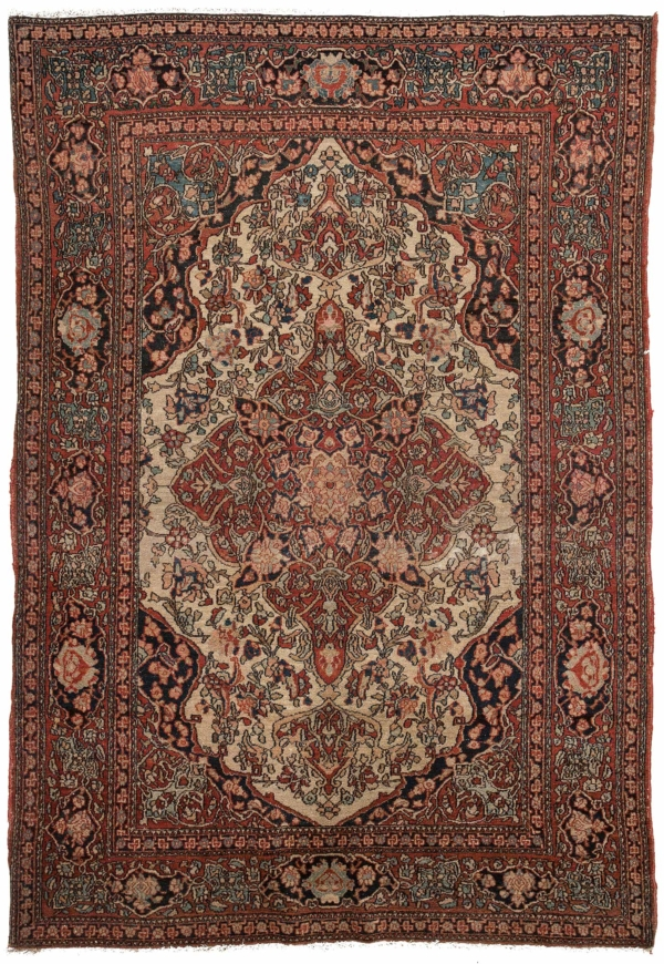 Persian Esfahan Rug at Essie Carpets, Mayfair London