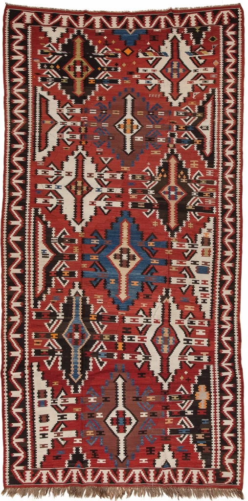 Persian Kilim Gallery Runner Kilim I Runner at Essie Carpets, Mayfair London
