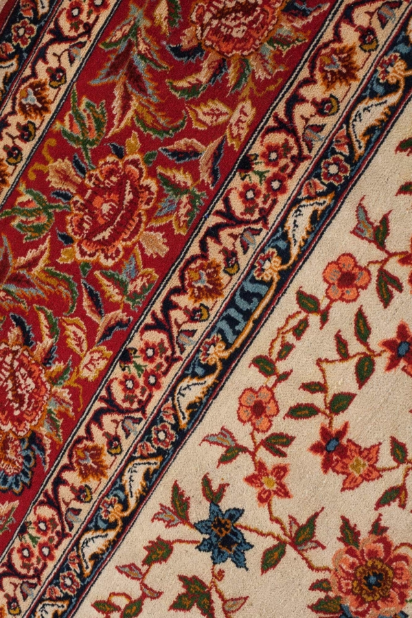 Persian Esfahan Carpet at Essie Carpets, Mayfair London