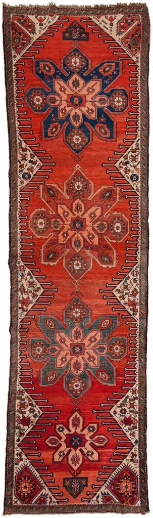 Antique Karabakh Runner at Essie Carpets, Mayfair London