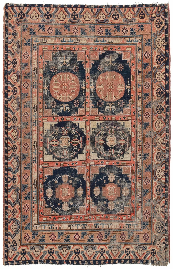 Antique Chinese  Rug at Essie Carpets, Mayfair London