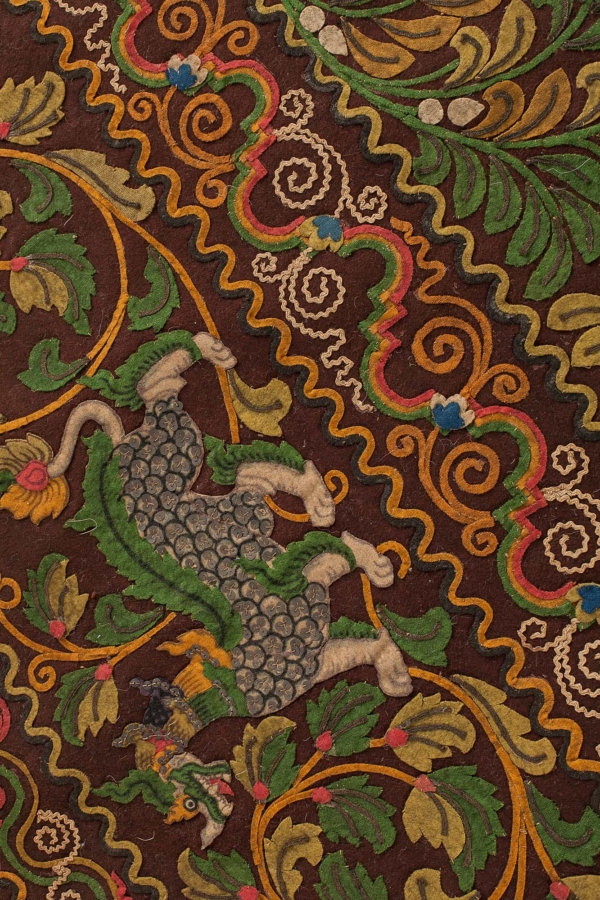 Oriental Court Tapestry at Essie Carpets, Mayfair London