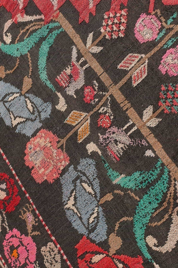 Russian Dated Kilim at Essie Carpets, Mayfair London