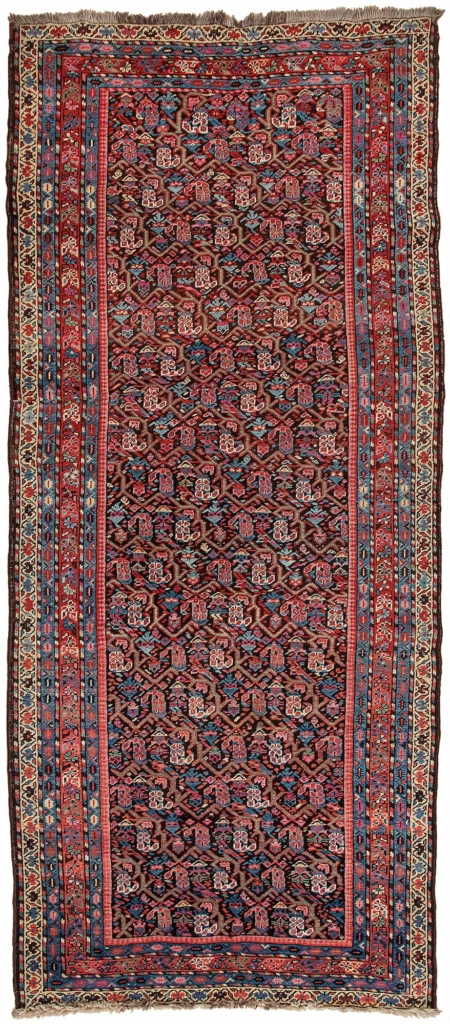 Very Old Russian Karabakh  Kilim at Essie Carpets, Mayfair London