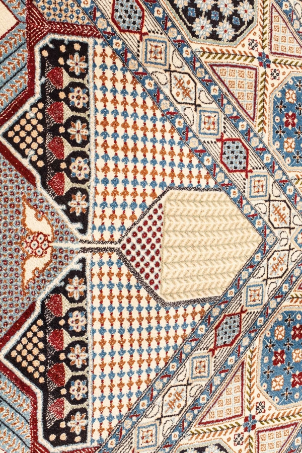 Extremely Fine and Amazing Persian Nain Carpet at Essie Carpets, Mayfair London