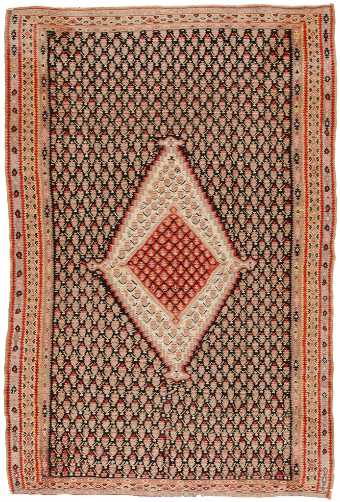 Persian Senneh  Kilim at Essie Carpets, Mayfair London
