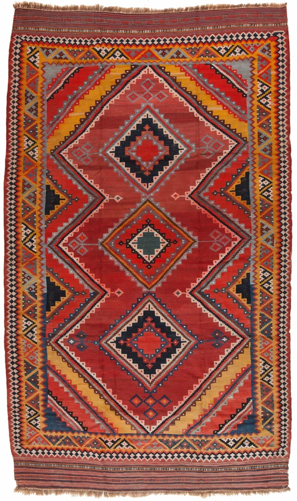 Persian Qashqai Kilim Kilim at Essie Carpets, Mayfair London