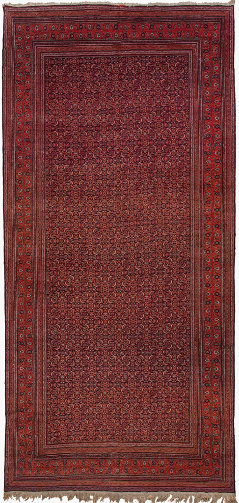 Antique Dorokhsh Carpet at Essie Carpets, Mayfair London