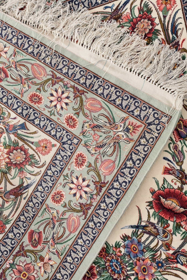 Extremely Fine Signed Rug at Essie Carpets, Mayfair London