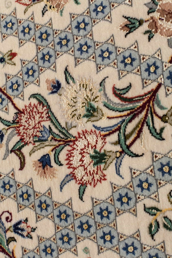 Very Fine Esfahan Signed Rug at Essie Carpets, Mayfair London
