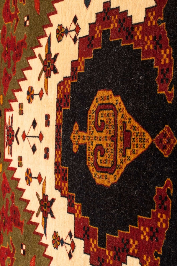 Persian Old Mashad Rug at Essie Carpets, Mayfair London