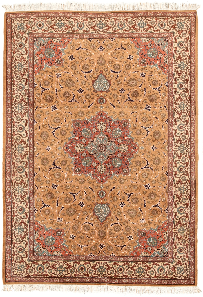 Fine Tabriz Rug at Essie Carpets, Mayfair London