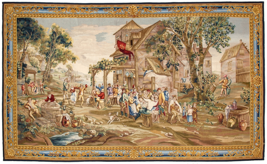 Spanish Tapestry Tapestry at Essie Carpets, Mayfair London