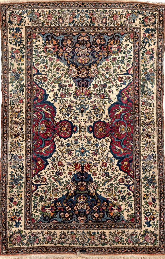 Esfahan Rug at Essie Carpets, Mayfair London