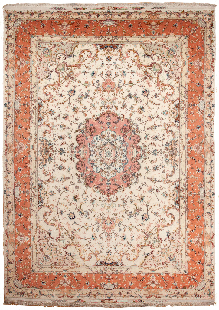 Very Fine Tabriz, Signed Carpet at Essie Carpets, Mayfair London