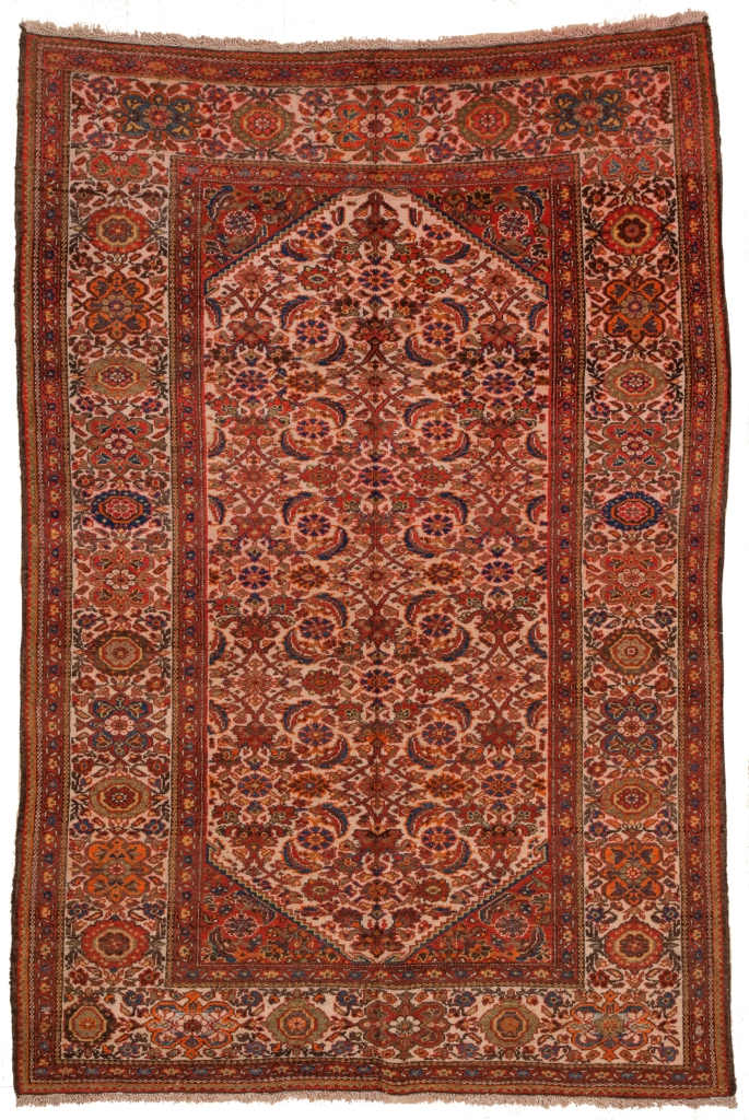 Old Malayer Rug at Essie Carpets, Mayfair London