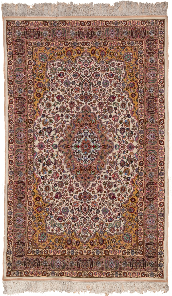 Extremely Fine SABER Mashad Rug at Essie Carpets, Mayfair London