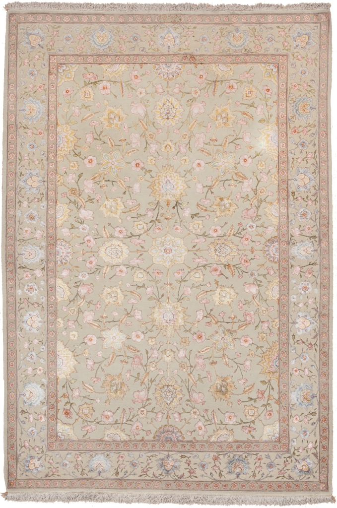 Extremely Fine Persian Tabriz Signed Rug at Essie Carpets, Mayfair London