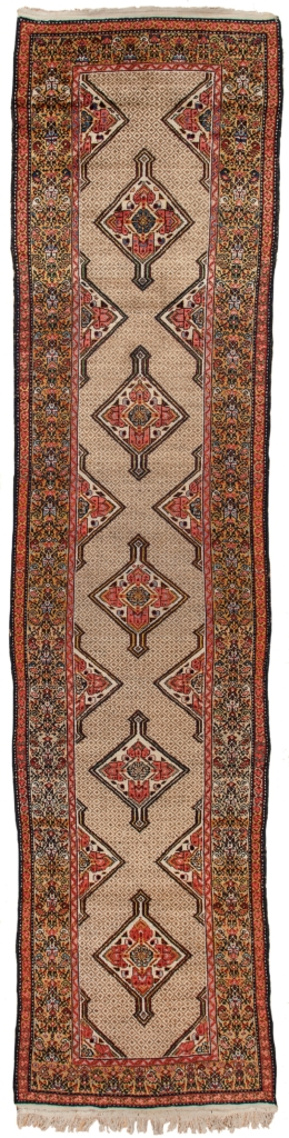 Very Old Persian Malayer Runner at Essie Carpets, Mayfair London