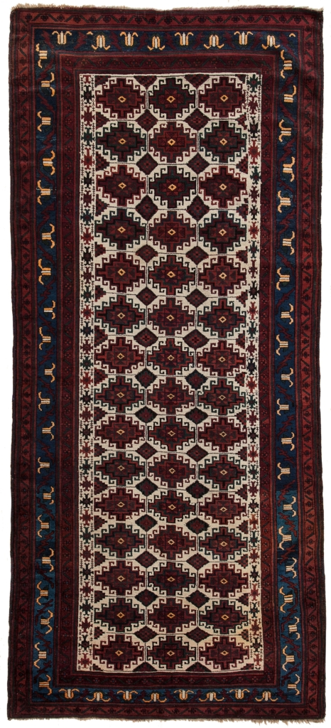 Very Old Persian Baluch Runner at Essie Carpets, Mayfair London