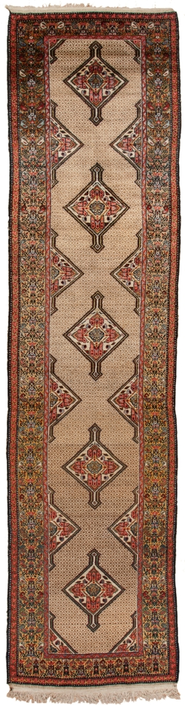 Very Old Persian Malayer Runner (one of a Pair) Runner at Essie Carpets, Mayfair London