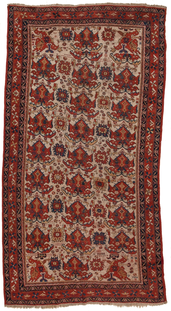 Antique Persian Afshar Kilim at Essie Carpets, Mayfair London