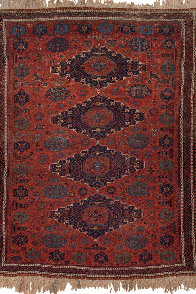 Old Persian Sumac Kilim at Essie Carpets, Mayfair London