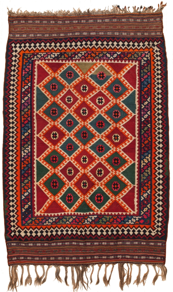 Qashqai  Kilim at Essie Carpets, Mayfair London