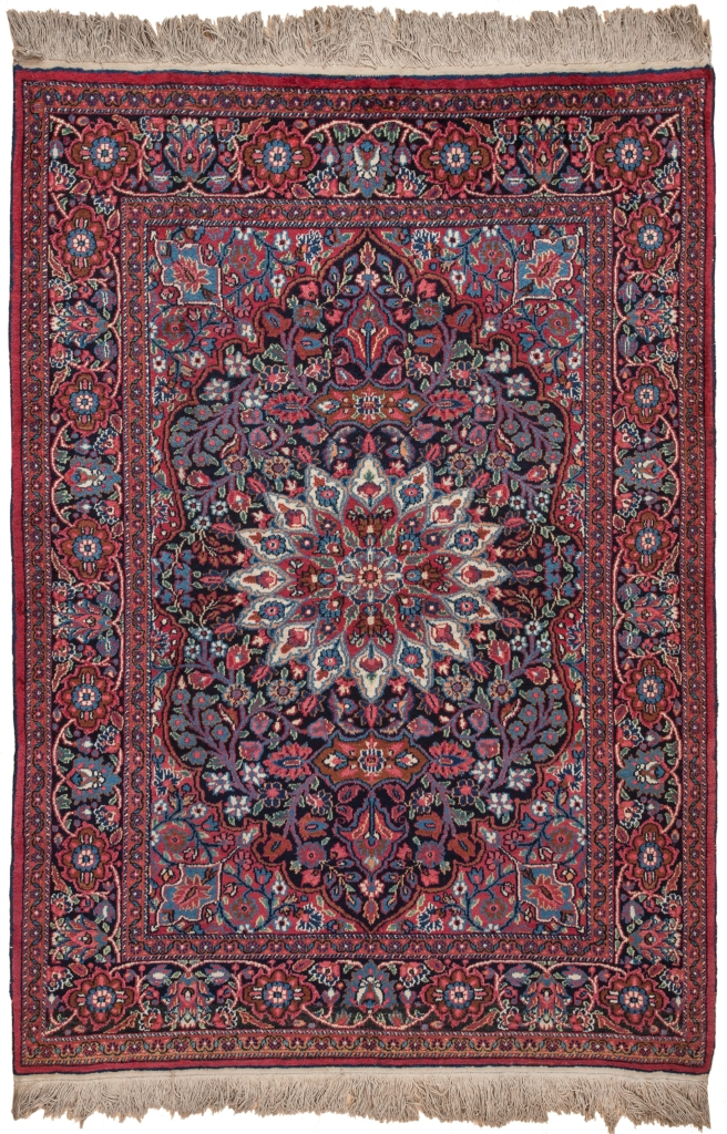 Persian Mashad Rug at Essie Carpets, Mayfair London