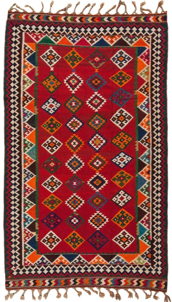 Persian Qashqai  Kilim at Essie Carpets, Mayfair London