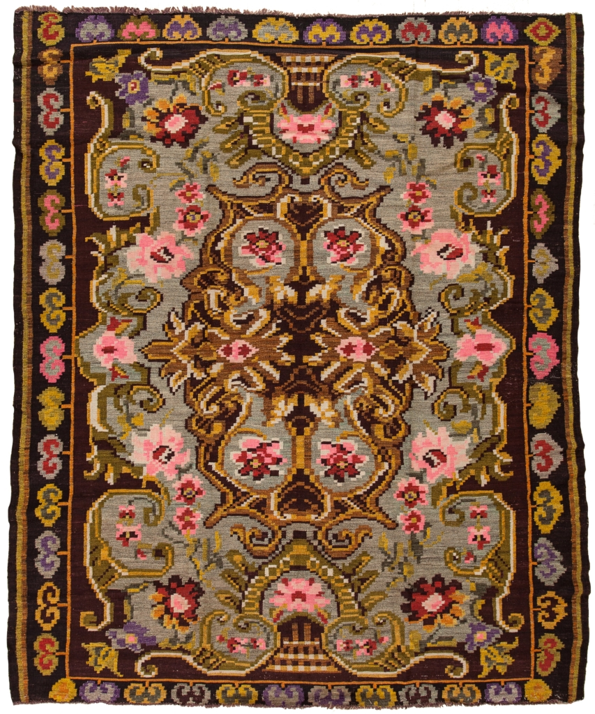 Kilim Gol Farangi Bess Arabian Kilim at Essie Carpets, Mayfair London