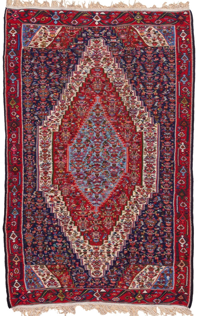 Persian Senneh Kilim Kilim at Essie Carpets, Mayfair London