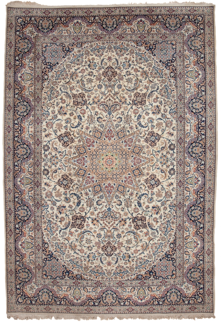 Exquisite, Very Fine Persian Nain Carpet at Essie Carpets, Mayfair London