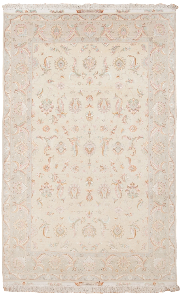 Fine Signed Persian Tabriz Carpet at Essie Carpets, Mayfair London
