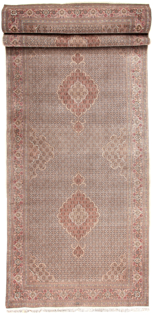 Fine Signed Persian Tabriz Runner at Essie Carpets, Mayfair London
