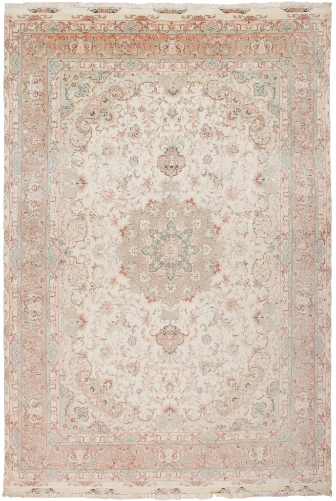 Extremely Fine Persian Tabriz Carpet at Essie Carpets, Mayfair London