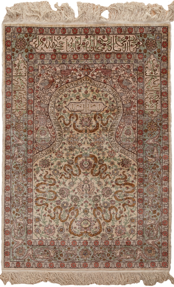 Turksish Hereke Rug at Essie Carpets, Mayfair London