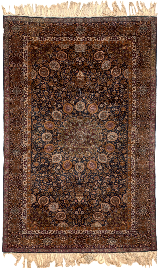 Fine, Signed Indian Lahor Rug at Essie Carpets, Mayfair London