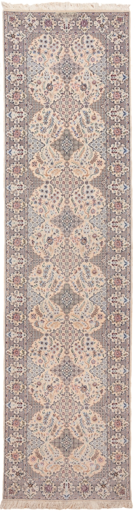 Fine, Signed Persian Nain Runner Runner at Essie Carpets, Mayfair London