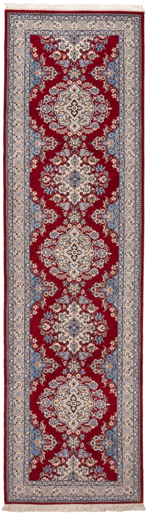 Fine Persian Nain Runner Runner at Essie Carpets, Mayfair London
