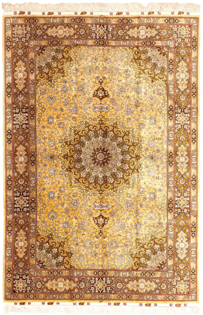 Fine Signed Persian Tabriz Rug at Essie Carpets, Mayfair London