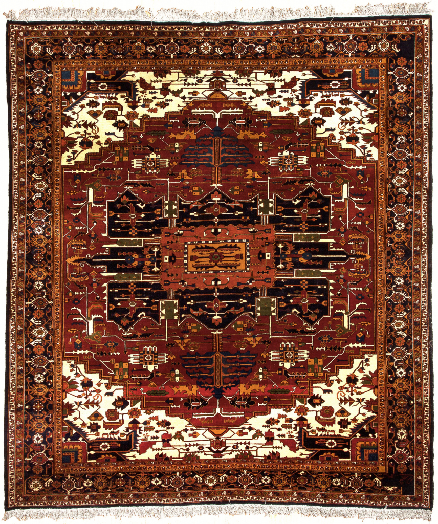 Mashad, Heriz design Rug for sale at Mayfair London