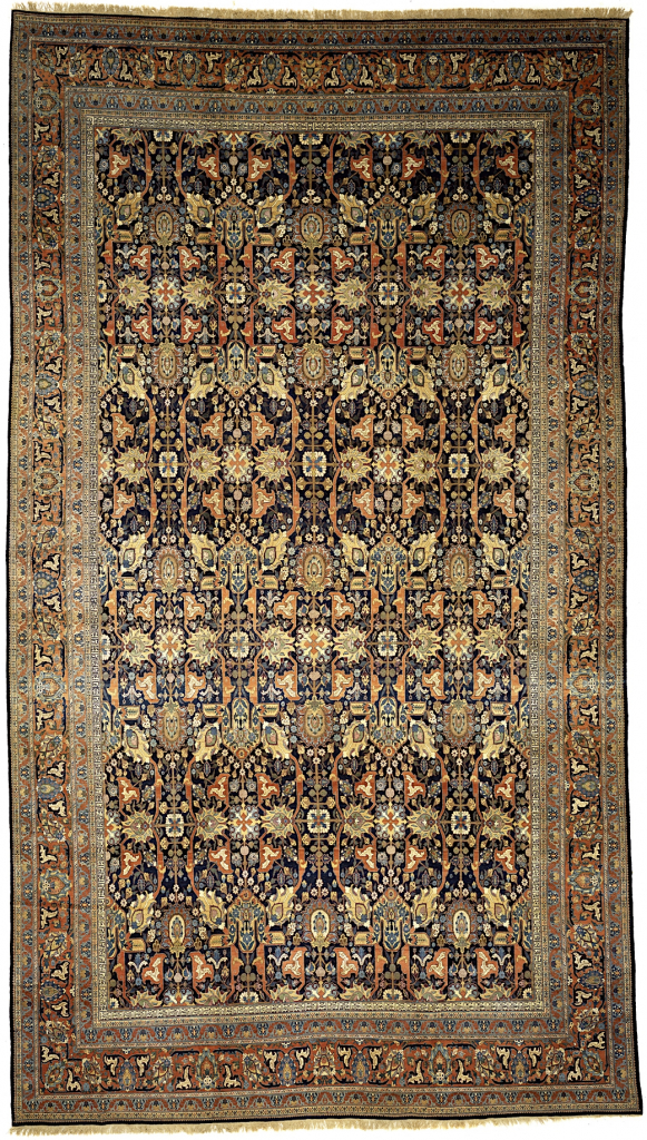 Persian Tabriz Extra-Large Gallery Carpet - Mansion Size